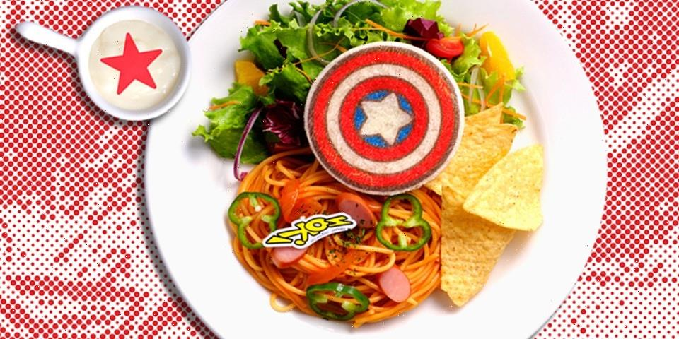Oh My Cafe's Marvel Cafe Pop-up Is Coming to Osaka