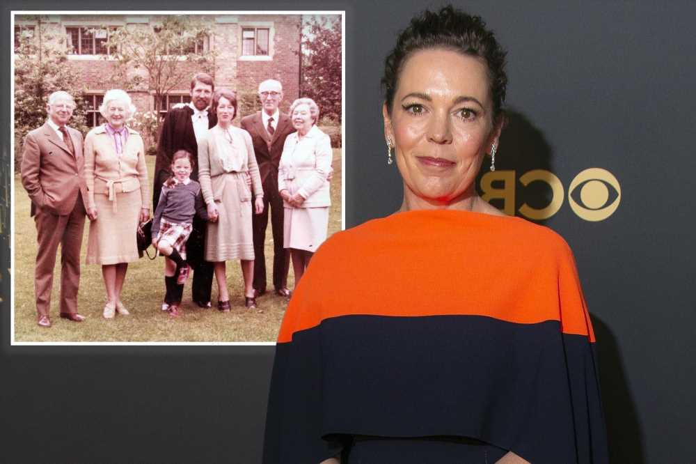 Olivia Colman reveals dad died 'during COVID' in emotional Emmys 2021 speech