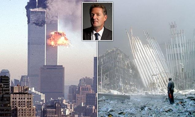 PIERS MORGAN recalls watching 9/11 unfold in extract from his book