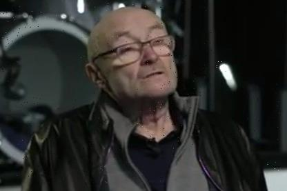 Phil Collins worries fans in rare interview as he admits he 'can barely hold a drumstick'