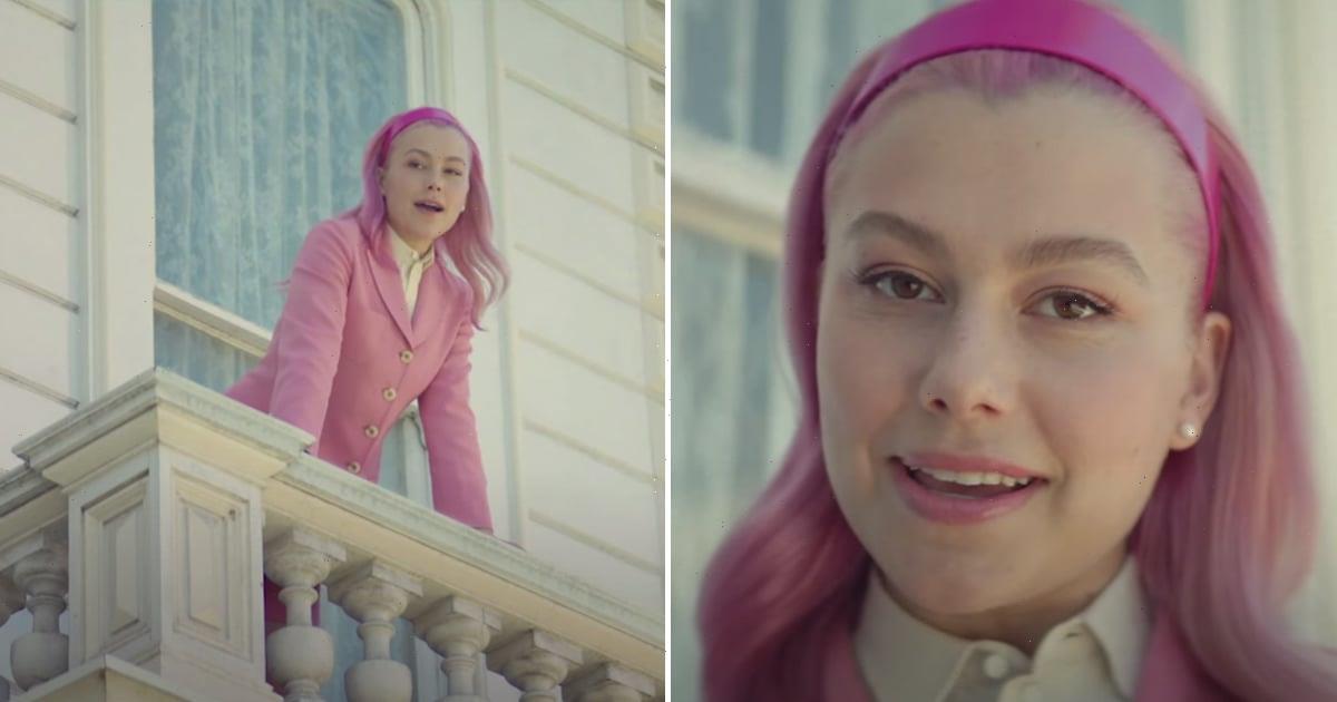 "Phoebe Bridgers's Hair Got a Bubblegum Pink Makeover For Muna's New ""Silk Chiffon"" Video"
