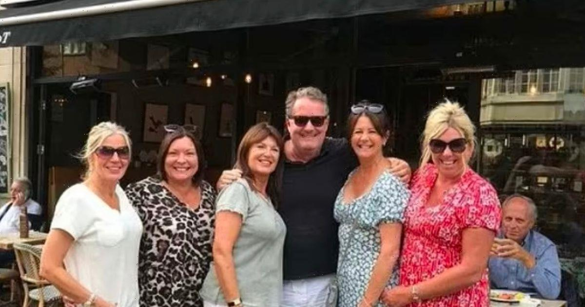Piers Morgan promises hell be back on TV soon as he poses with female fans