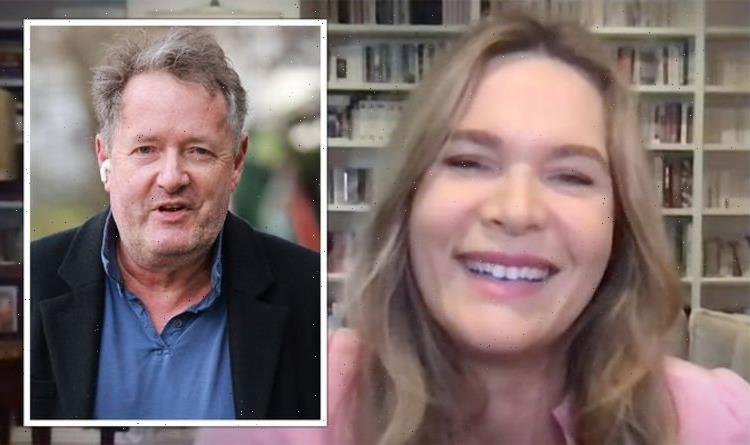 Piers Morgan's wife BEGS Sky News to hire him: 'Give me a bit of relief'