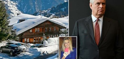 Prince Andrew set to pay off debt with sale of £17million Swiss chalet