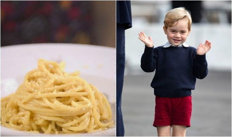 Prince George loves spaghetti carbonara – his 'favourite' meal according to royal chef
