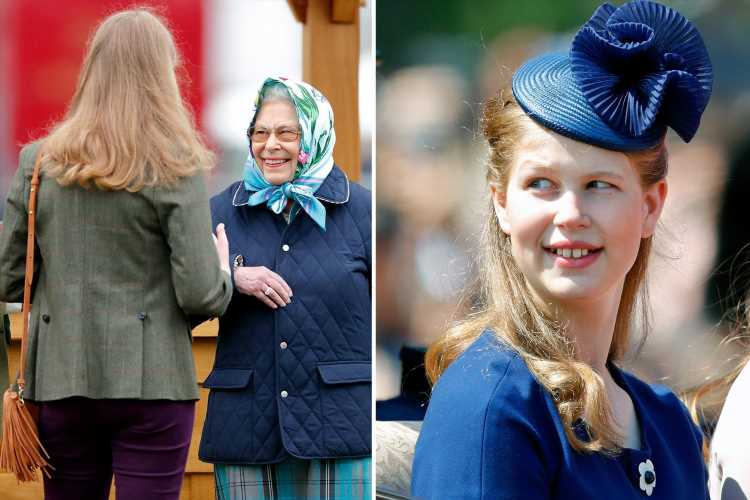 Queen's 'favourite grandkid is Louise – not Will or Harry' – as she offers fresh blood to 'creaking' royals, says expert