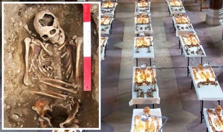 Roman Empire in UK 'rewritten' after scores of 'gladiator' bodies found in mass grave