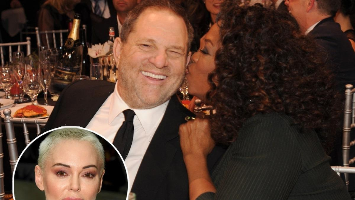 Rose McGowan Slams 'Lizard' Oprah Winfrey for Being 'Pals' With Harvey Weinstein and 'Destroying Russell Simmons Victims'