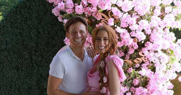 Stacey Solomons loved ones believed baby shower for daughter was secret wedding