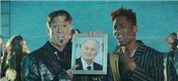 Stephen Colbert, Alan Alda and Jon Batiste Channel BTS in 'Excuses Song'
