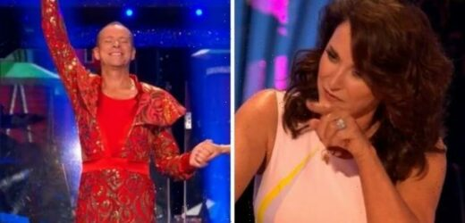 Strictly Come Dancing judges baffled by Rob Webbs extraordinary outfit Hilarious!