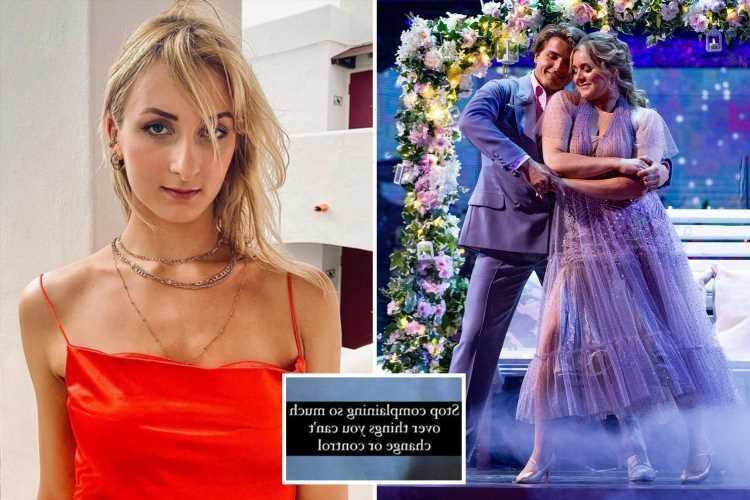 Strictly pro Nikita Kuzman's girlfriend posts about 'not being able to change a thing' as he grows close to Tilly Ramsay