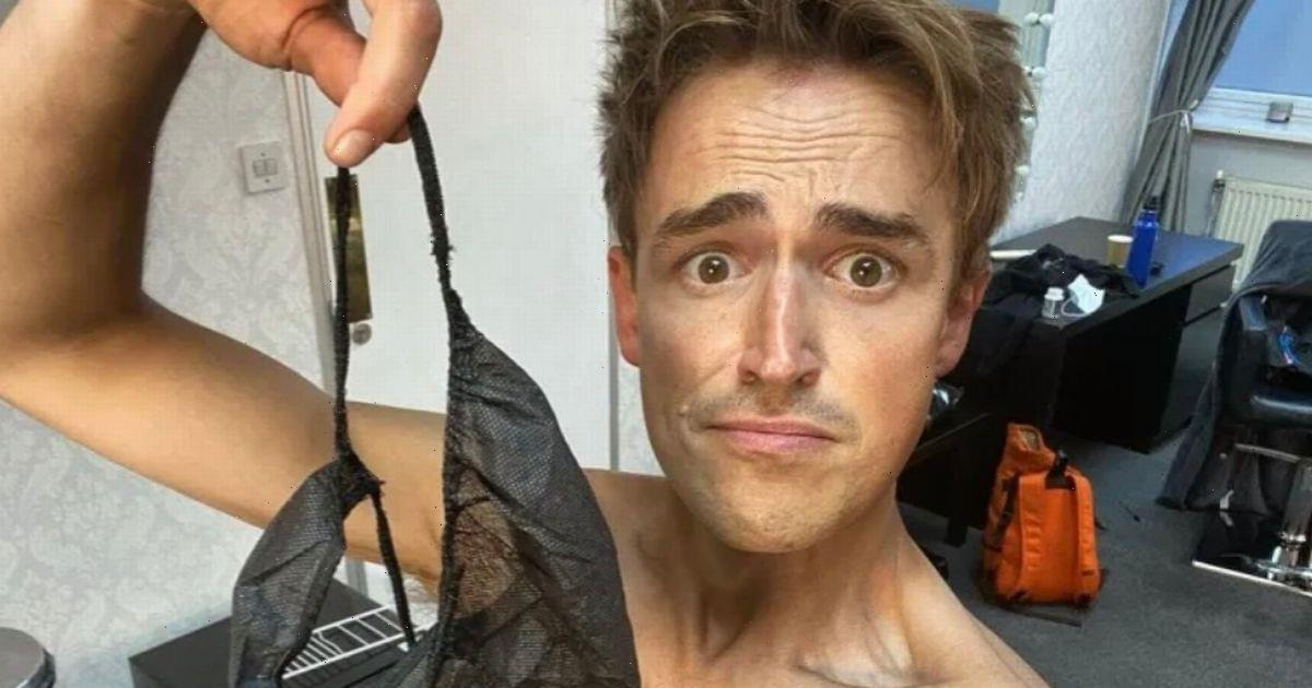 Strictly's Adam Peaty & Tom Fletcher warned by Instagram after stripping naked