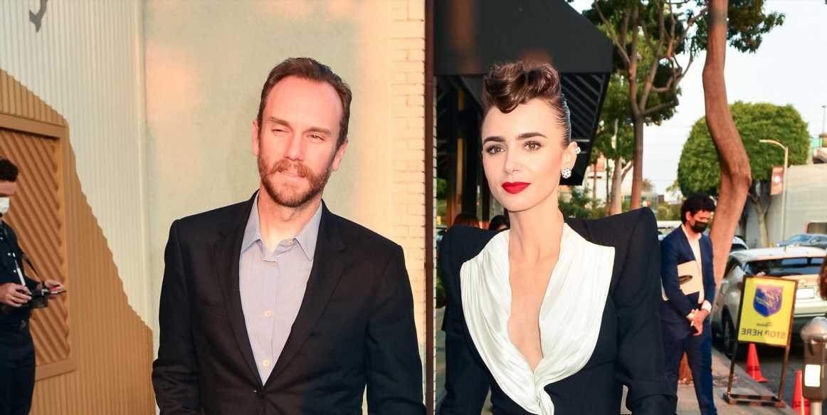 Surprise! Lily Collins and Charlie McDowell Are Married