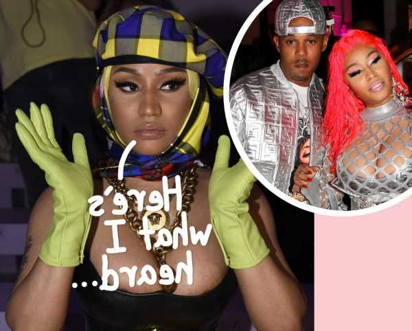Swollen Testicles?! So THIS Is The COVID-Related Reason Why Nicki Minaj Bailed On The Met Gala…