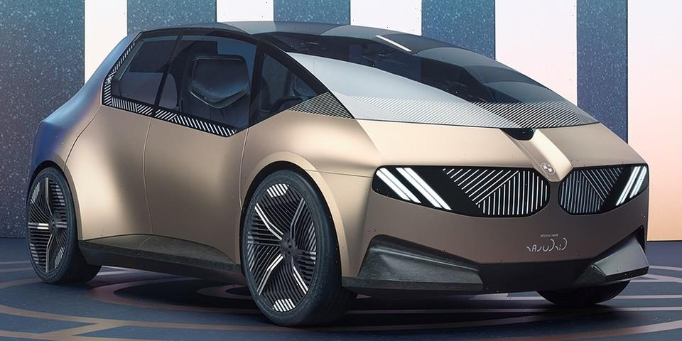 The BMW i Vision Circular Is the 100% Sustainable EV That Aims to Change the Future of Cars