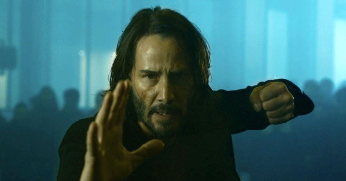 The Matrix Resurrections shares explosive first look as Keanu Reeves returns
