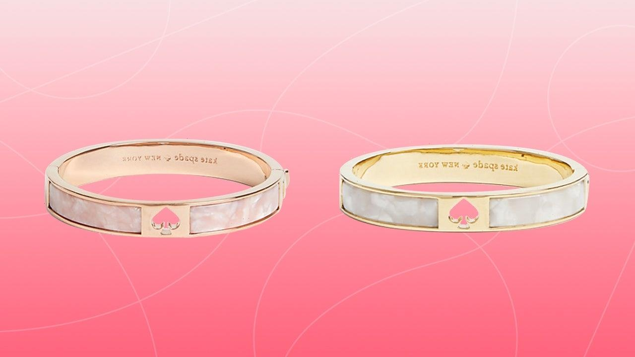 This Kate Spade Hinge Bangle Is So Chic —  And It's 68% Off Today