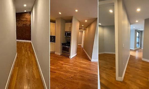 This NYC apartment's VERY strange layout will make your head hurt