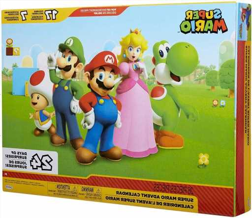 This Super Mario Advent Calendar Is a Must-Have for Your Video Gamer & Exclusively on Amazon