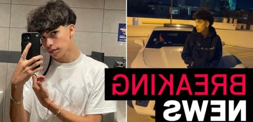 TikToker Gabriel Salazar 'dies aged 19 following car crash'