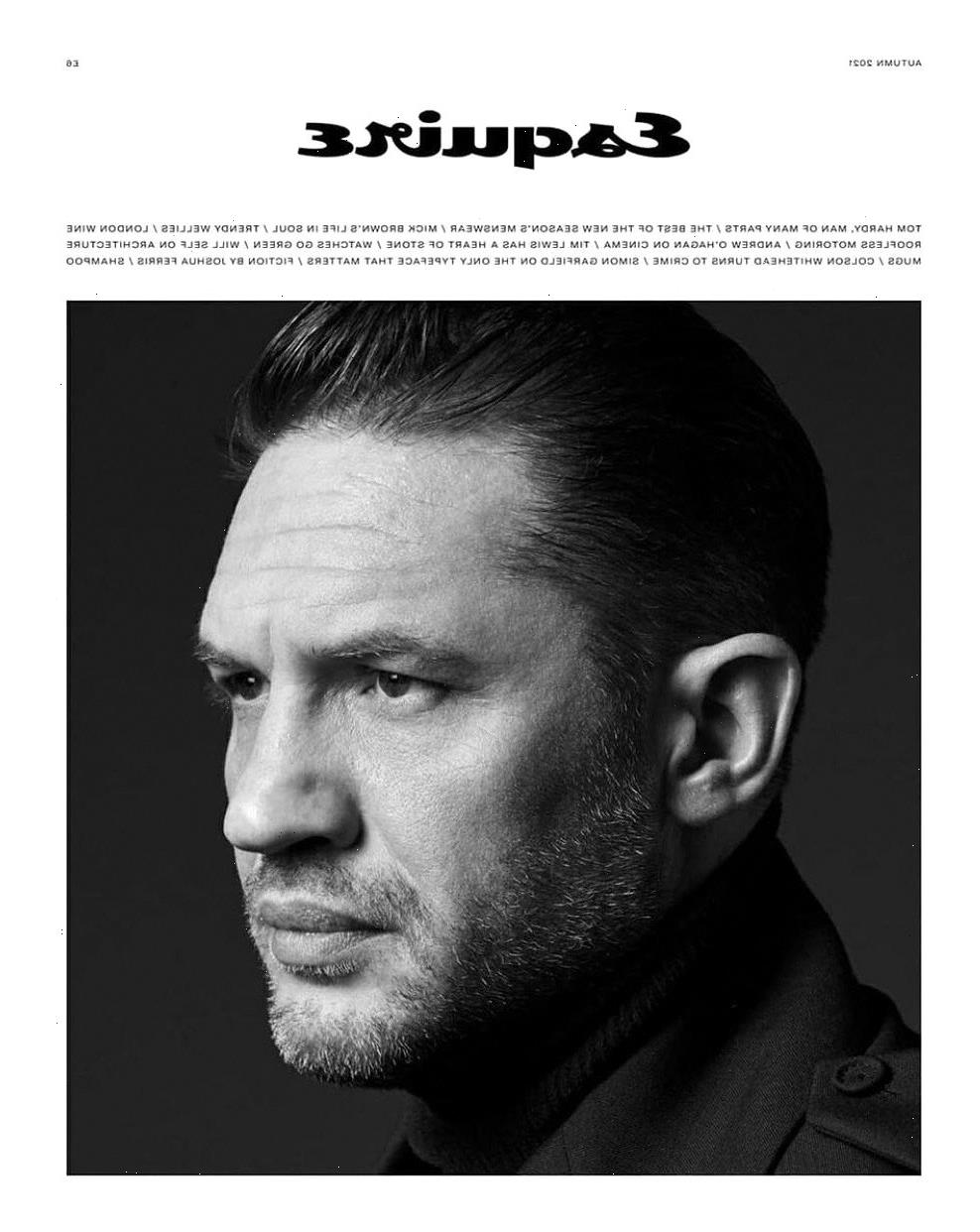 Tom Hardy fantasized about opening up a sourdough cafe during lockdown