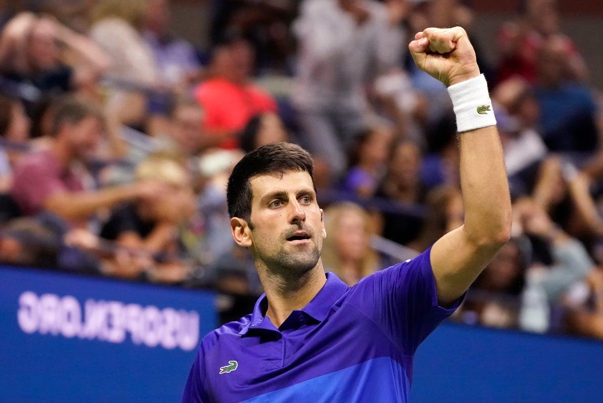 US Open 2021: Novak Djokovic comes back from a set behind to see off Jenson Brooksby