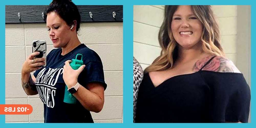 'With Weight Watchers And Whitney Simmons\u2019 Workouts, I Lost 102 Pounds'
