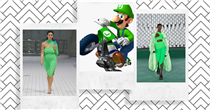 'Luigi green' is going to be fashion's next big colour trend, according to these brands