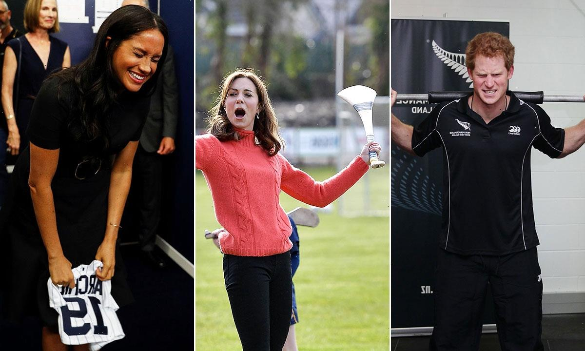 21 hilarious photos of royals doing sport as youve never seen them before