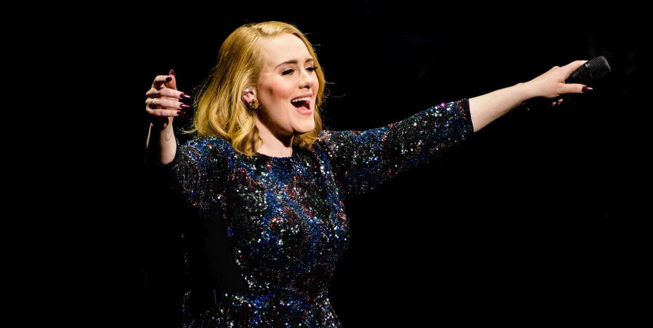 """Adele Plays Clip of """"Easy On Me"""" From New Album While On Instagram Live"""