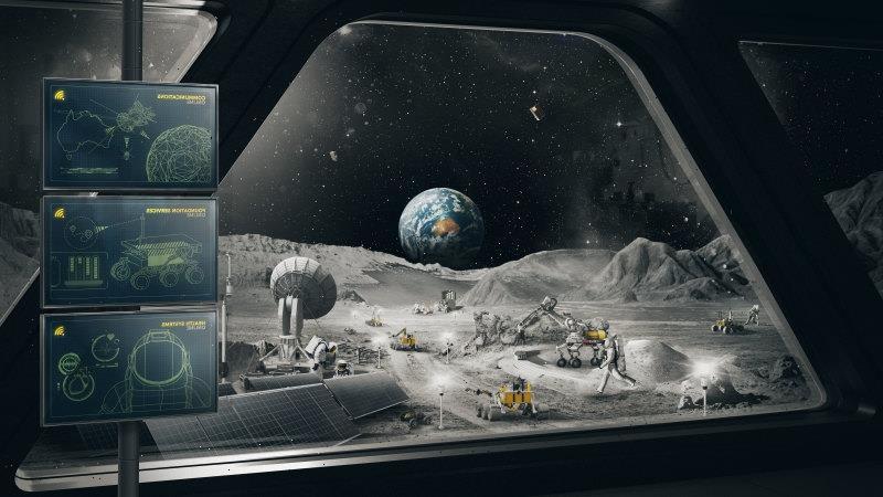 Australian-made rover to help establish a human base on the moon
