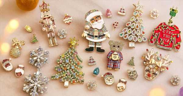 BaubleBar's Famous Holiday Earrings Dropped Today and Are Already Selling Out!