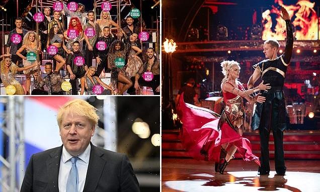 Boris Johnson says 'it should be Strictly Come Vaccinated'