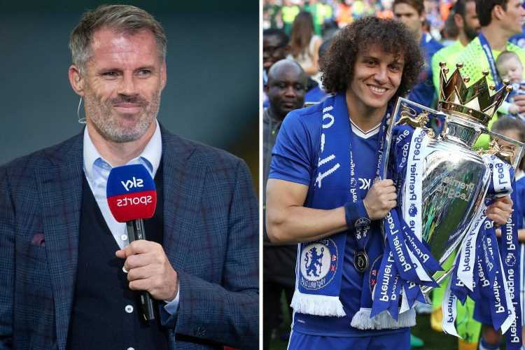 Carragher hits back at David Luiz for title jibe after ex-Arsenal and Chelsea star said 'it's funny' as he never won it