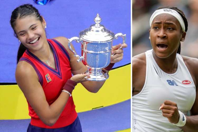 Coco Gauff warns Emma Raducanu to 'set aside time away from her phone' after phenomenal rise to stardom