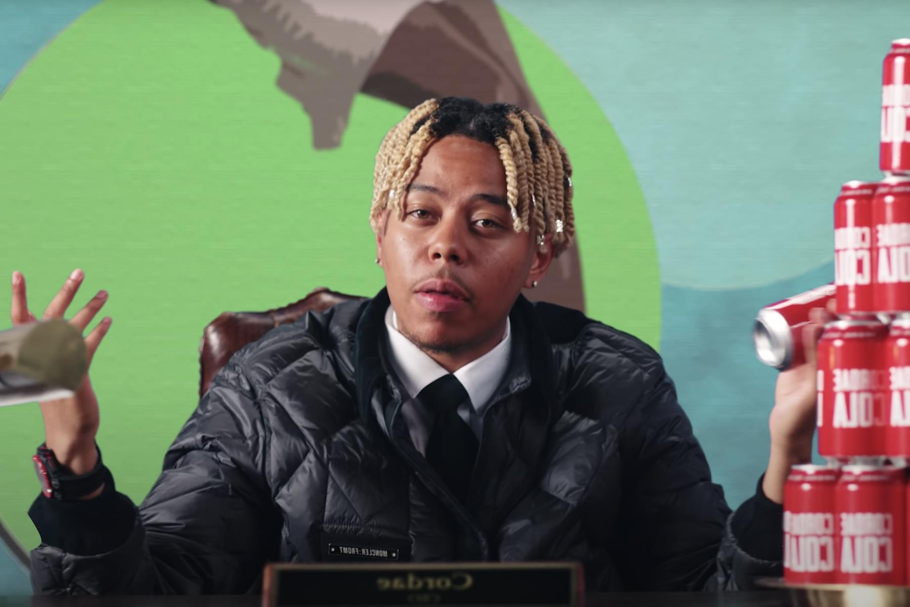 Cordae Is the CEO of Cordae Cola in New 'Super' Video