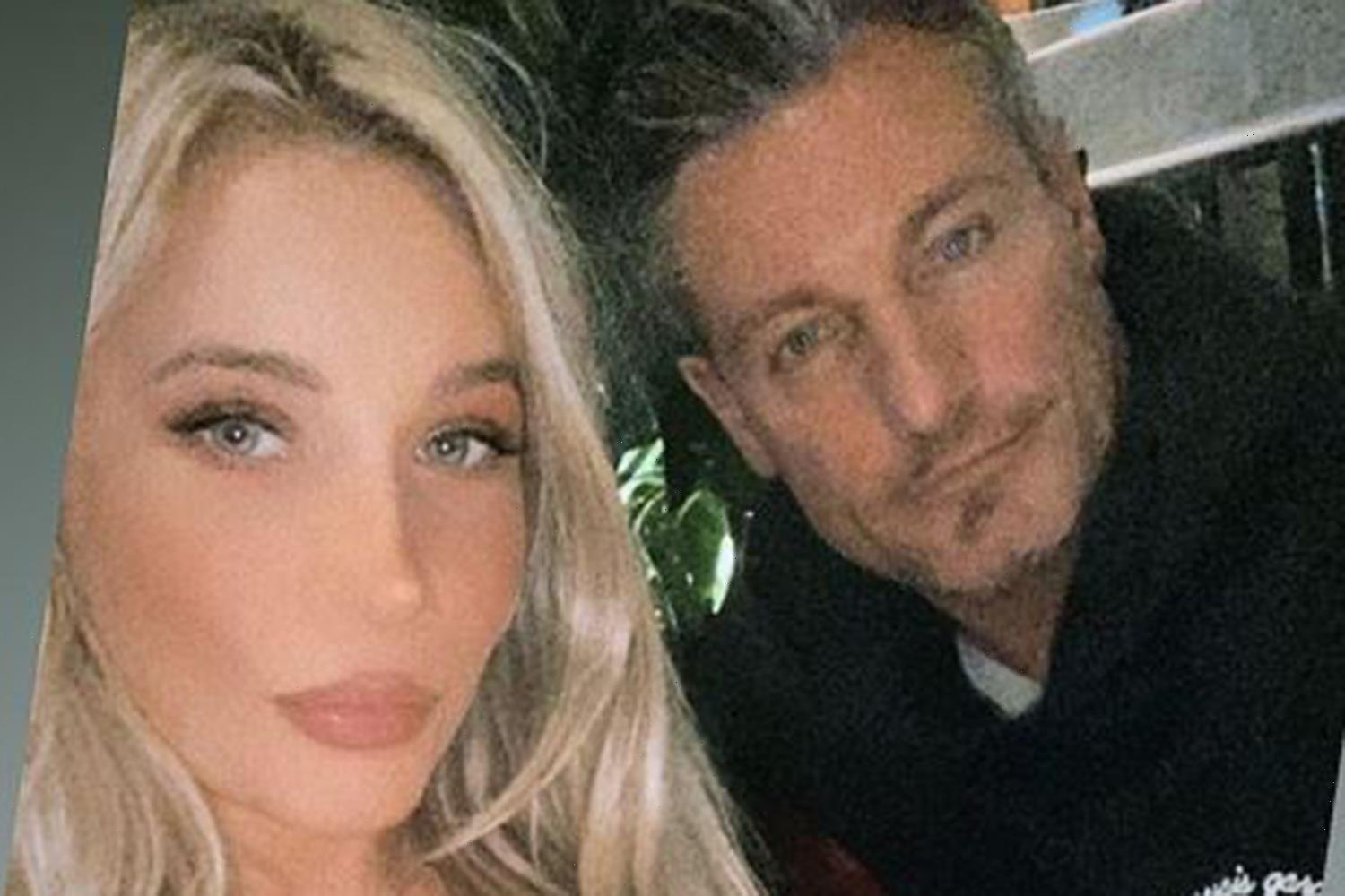 Dean Gaffney enjoys night out with rarely seen daughter Charlotte, 25 – but moans he has to foot the bill