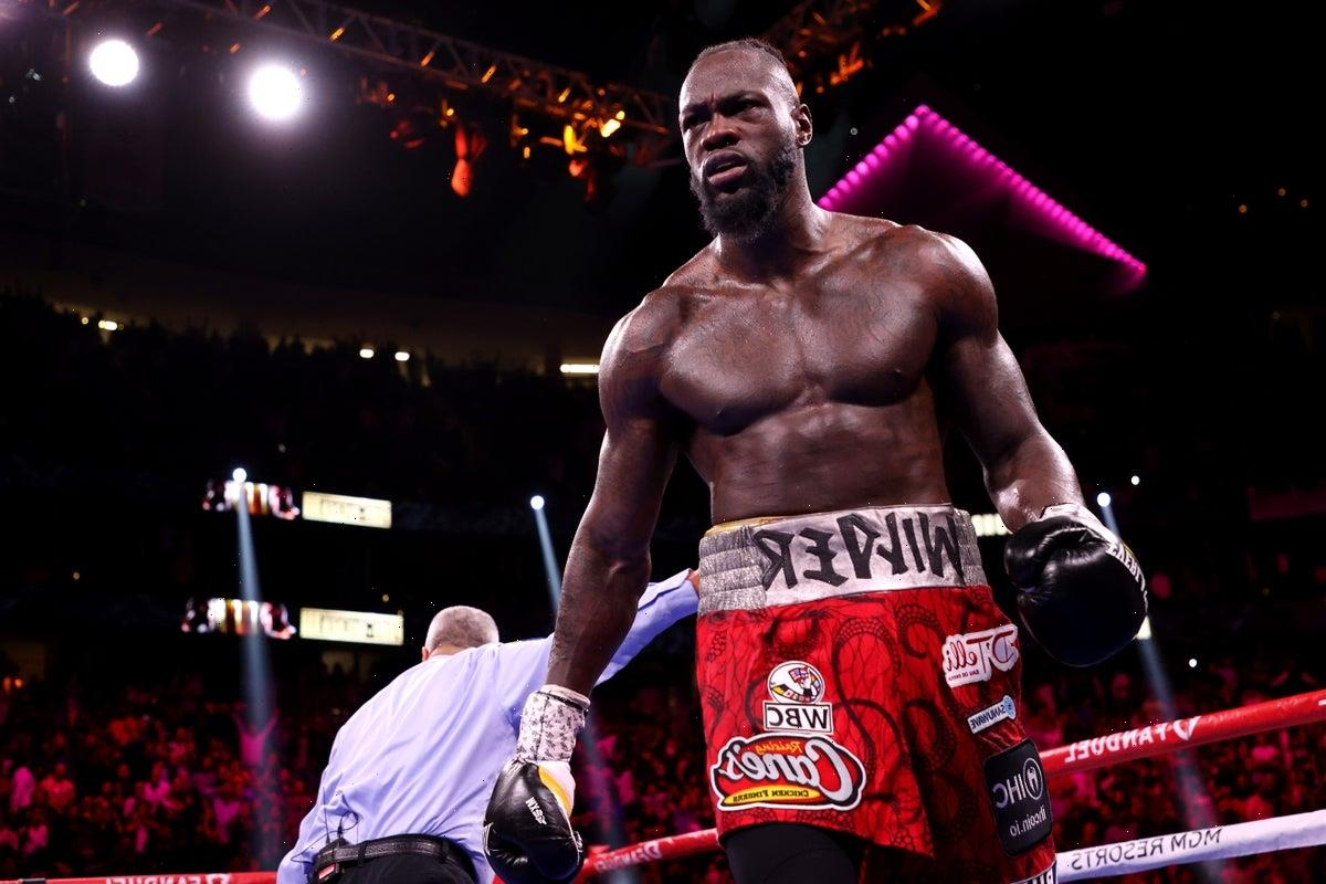Deontay Wilder likely to take 'rest' from boxing after Tyson Fury defeat