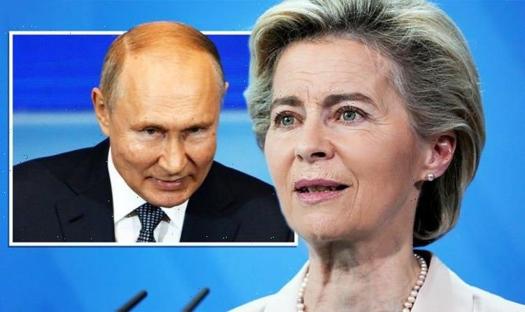 EU crumbles to Russian threats as 20 countries agree to spread Putin's sky-high gas prices