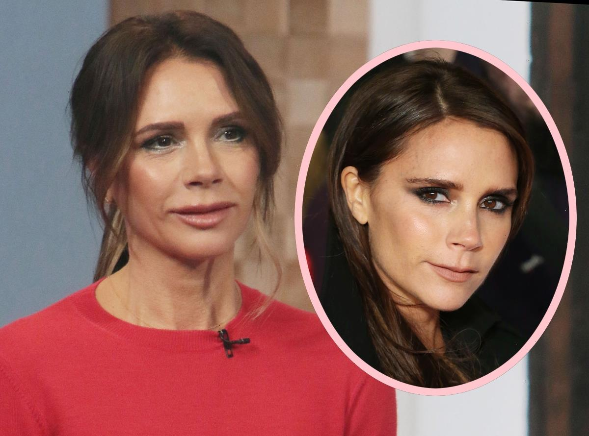 Fans Get Spicy About Victoria Beckham's VERY Full Lips On GMA