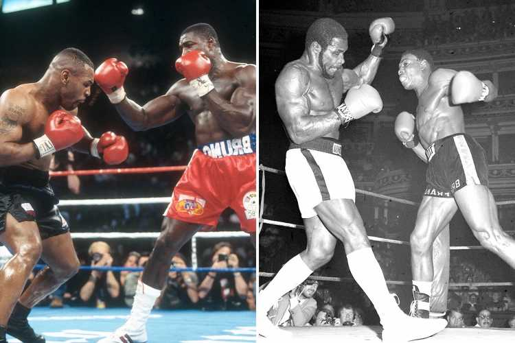 Frank Bruno reveals hardest punchers he faced in boxing career but explains why legend Mike Tyson is NOT in top three