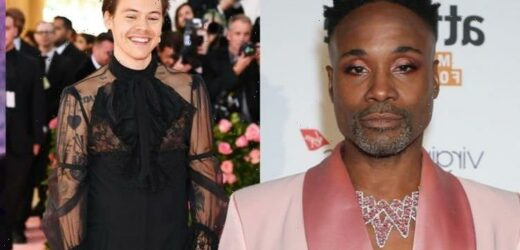 He doesnt care! Harry Styles blasted by Billy Porter for wearing dress on Vogue cover