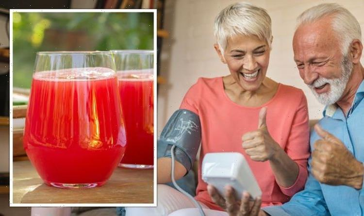 High blood pressure: The refreshing red drink shown to 'significantly' lower hypertension