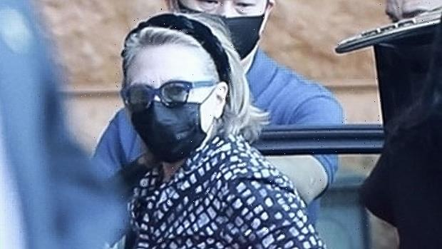 Hillary Clinton & Daughter Chelsea Arrive At LA Hospital To Visit Bill, 75, In ICU – Photos