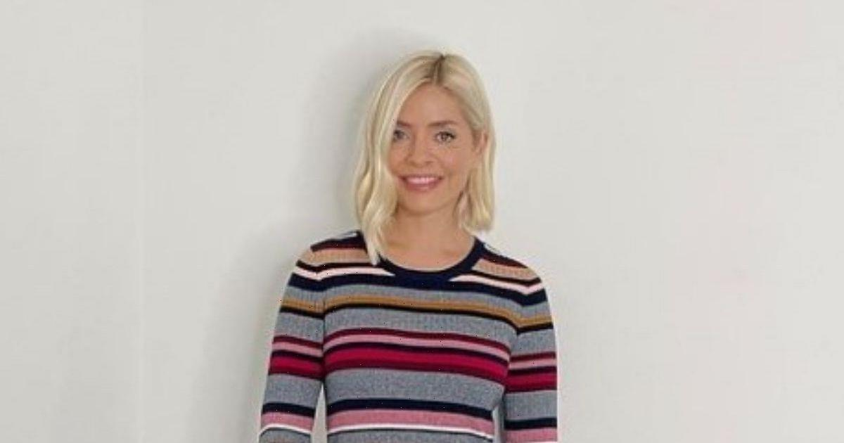 Holly Willoughby wows on This Morning in stunning figure hugging knitted dress