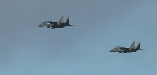 Homes shake after massive 'bang' heard as military jets soar through the sky