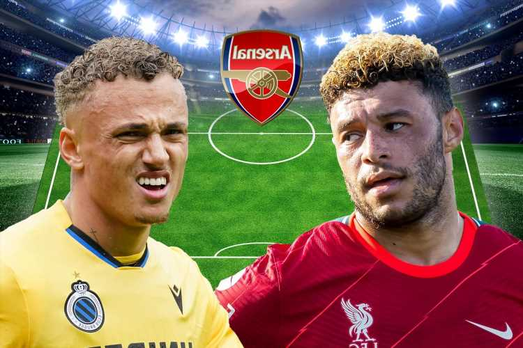 How Arsenal could line-up from January transfer window with Alex Oxlade-Chamberlain and Noa Lang adding to attack