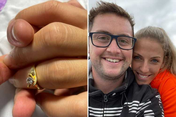 I wed my 'beautiful' girlfriend as she died after being left brain dead in horror crash – she was at peace