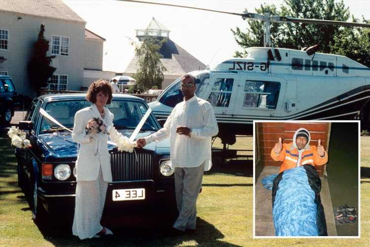 I won £6.5m on lottery but blew the lot on cars and mansion and ended up homeless – the cash was cursed
